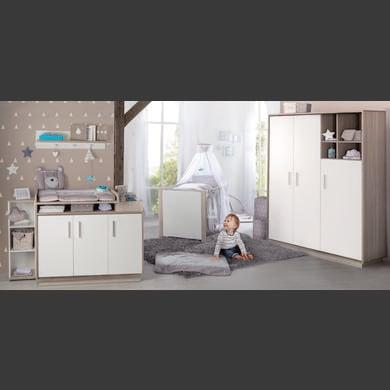 Babyzimmer - roba Kinderzimmer Olaf 3 türig weiß  - Onlineshop Babymarkt