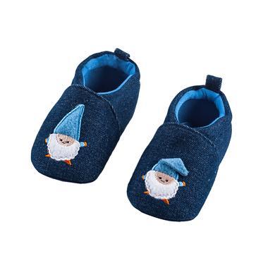 Babyschuhe - maximo Krabbelschuh Zwerg tinte - Onlineshop Babymarkt