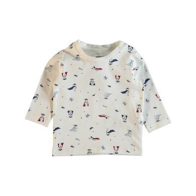 Babyoberteile - name it Boys Langarmshirt Geom snow white - Onlineshop Babymarkt