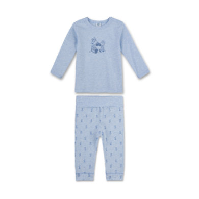 Miniboyswaeschenachtwaesche - Sanetta Boys Schlafanzug bleu melange - Onlineshop Babymarkt