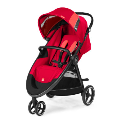 gb GOLD Kinderwagen Biris Air3 Cherry Red-red -...
