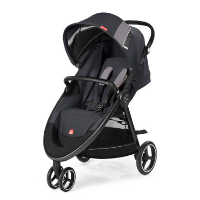 gb GOLD Kinderwagen Biris Air3 Silver Fox Grey-...