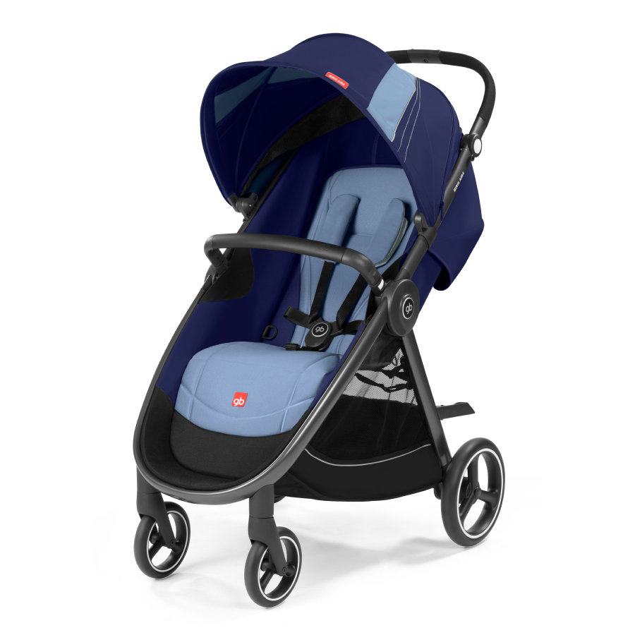 gb GOLD Kinderwagen Biris Air4 Sapphire Blue-na...