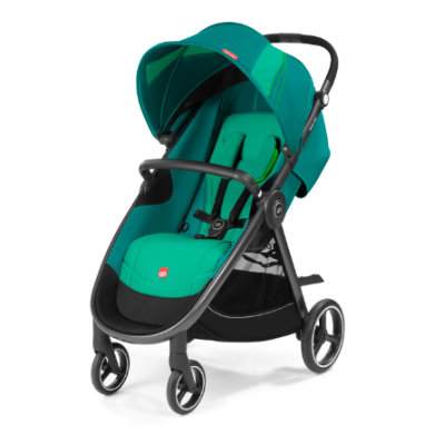 gb GOLD Kinderwagen Biris Air4 Laguna Blue-turq...