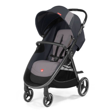 gb GOLD Kinderwagen Biris Air4 Silver Fox Grey-...