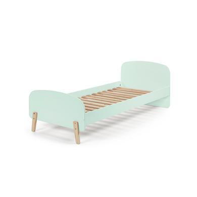 Kinderbetten - VIPACK Einzelbett Kiddy mint grün Gr.90x200 cm  - Onlineshop Babymarkt