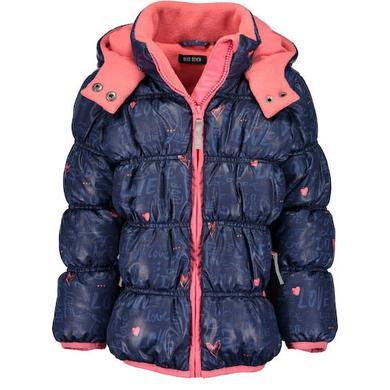 Minigirljacken - Blue Seven Girls Jacke blau – Gr.Kindermode (2 – 6 Jahre) – Mädchen - Onlineshop Babymarkt