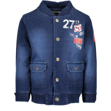 Miniboyjacken - BLUE SEVEN Boys Sweatjacke blau - Onlineshop Babymarkt