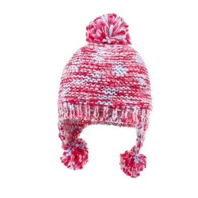 Minigirlaccessoires - maximo Girls Inkamütze Pompons fandango pink - Onlineshop Babymarkt