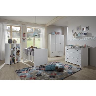 Babyzimmer - arthur berndt Kinderzimmer Johan 3 türig weiß  - Onlineshop Babymarkt