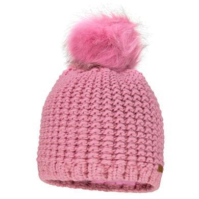 Minigirlaccessoires - maximo Girls Mütze Pompon altrosa – rosa pink – Gr.Kindermode (2 – 6 Jahre) – Mädchen - Onlineshop Babymarkt