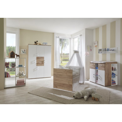 Babyzimmer - arthur berndt Kinderzimmer Anna 4 türig weiß  - Onlineshop Babymarkt