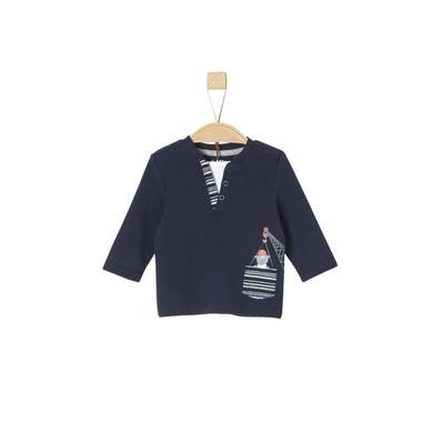 Babyoberteile - s.Oliver Langarmshirt dark blue - Onlineshop Babymarkt