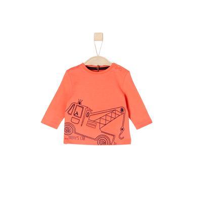 Babyoberteile - s.Oliver Boys Langarmshirt orange - Onlineshop Babymarkt