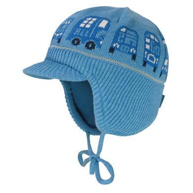 Miniboyaccessoires - maximo Boys Schildmütze blümel melange – blau – Gr.Kindermode (2 – 6 Jahre) – Jungen - Onlineshop Babymarkt