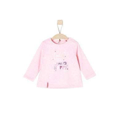 Babyoberteile - s.Oliver Langarmshirt purple pink melange - Onlineshop Babymarkt