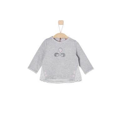 Babyoberteile - s.Oliver Girls Langarmshirt light grey melange - Onlineshop Babymarkt