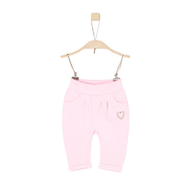 Babyhosen - s.Oliver Girls Sweathose light pink - Onlineshop Babymarkt