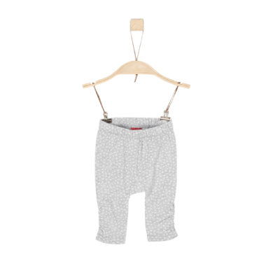 Babyhosen - s.Oliver Girls Leggings grey black - Onlineshop Babymarkt