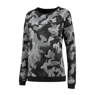 LOVE2WAIT Stillsweater Camouflage Grau - grau - Gr.XL - Damen