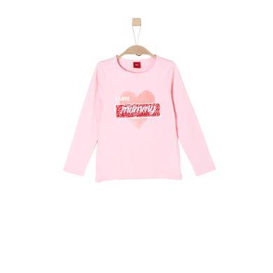 Minigirloberteile - s.Oliver Girls Langarmshirt light pink - Onlineshop Babymarkt
