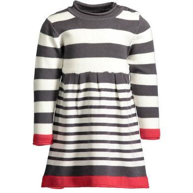 Minigirlroeckekleider - BLUE SEVEN Girls Strickkleid grau - Onlineshop Babymarkt