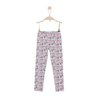 Minigirlhosen - s.Oliver Girls Leggings grey melange - Onlineshop Babymarkt