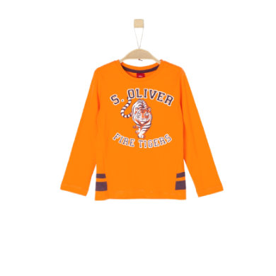 s.Oliver Boys Langarmshirt light orange Gr.Kindermode (2 6 Jahre) Jungen