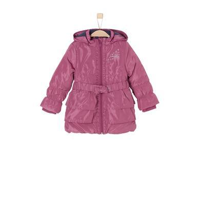 Minigirljacken - s.Oliver Girls Mantel dark pink - Onlineshop Babymarkt