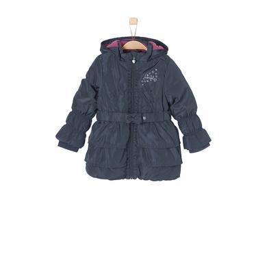 Minigirljacken - s.Oliver Girls Mantel dark blue - Onlineshop Babymarkt