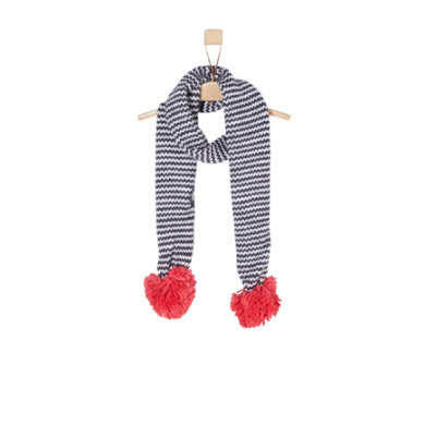 Minigirlaccessoires - s.Oliver Girls Schal blue multicolored stripes - Onlineshop Babymarkt