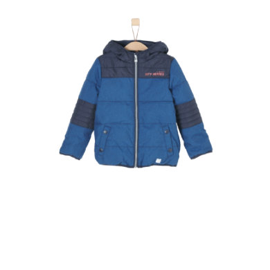 Miniboyjacken - s.Oliver Boys Jacke blue melange - Onlineshop Babymarkt