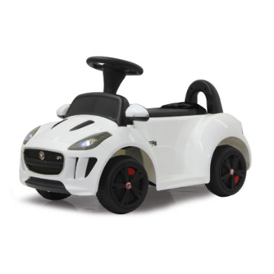 Jamara  Kids Ride-on - Kiddy-Jaguar bílý 6 V - bílá