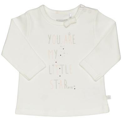 Staccato Langarmshirt offwhite weiß Gr.Newborn (0 6 Monate) Mädchen