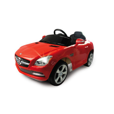 Jamara  Kids Ride-on - Mercedes SLK červený - červená