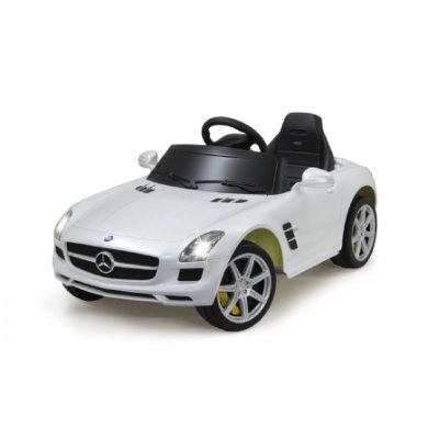 JAMARA Kids Ride-on - Mercedes SLS AMG bílý