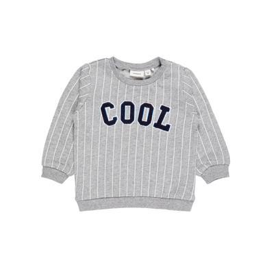 name it Boys Sweatshirt Ditmar grey melange