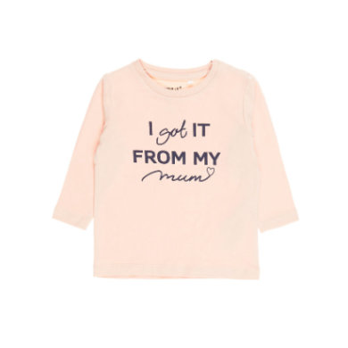 name it Girls Langarmshirt Disma evening sand rosa pink Gr.Newborn (0 6 Monate) Mädchen