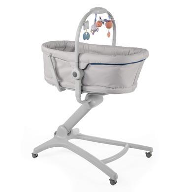 Hochstühle - chicco Hochstuhl, Stubenwagen und Babyliege Baby Hug 4 in 1 Glacial grau  - Onlineshop Babymarkt