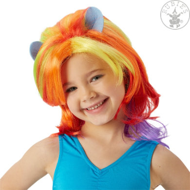 Rubies Accessoires My little Pony Rainbow Dash Perücke - rosa/pink - Gr.Kindermode (2 - 6 Jahre) - Mädchen