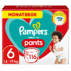 Pampers Couches culottes Baby Dry Pants T. 6 pack mensuel 15+ kg 116 pcs