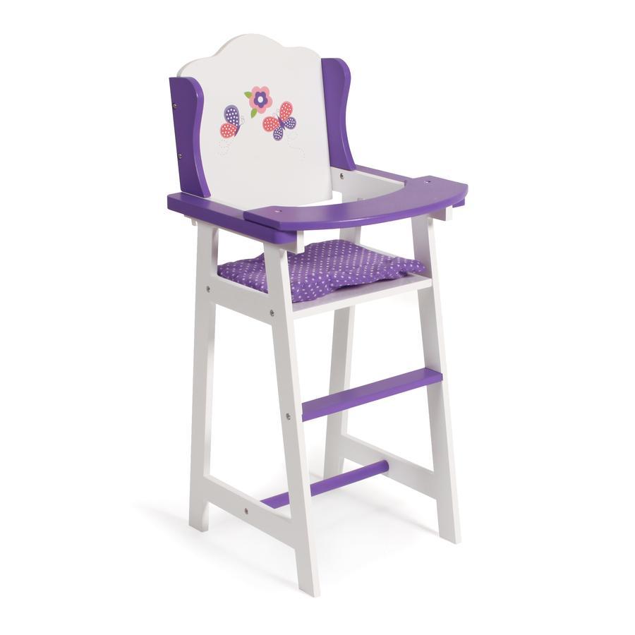 Babypuppen & Zubehör Pink Einen Effekt In Richtung Klare Sicht Erzeugen Puppenhochstuhl