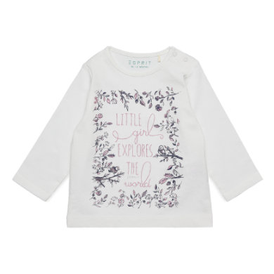 Babyoberteile - ESPRIT Baby Girls Langarmshirt off white - Onlineshop Babymarkt