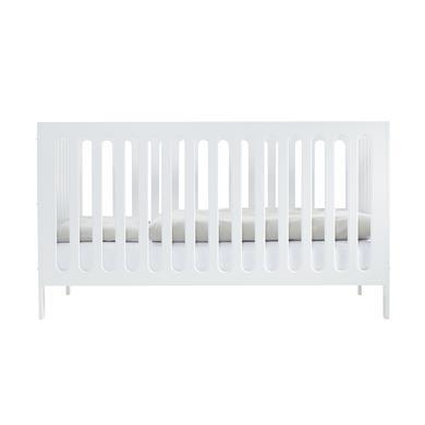 Kinderbetten - JULIUS ZÖLLNER Kinderbett Merle 70 x 140 cm weiß lackiert  - Onlineshop Babymarkt