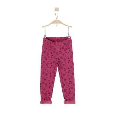 Minigirlhosen - s.Oliver Girls Leggings dark pink - Onlineshop Babymarkt