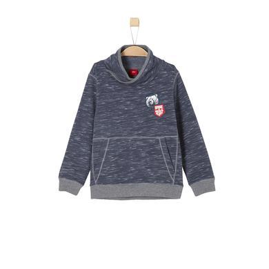 Miniboyoberteile - s.Oliver Boys Sweatshirt blue melange - Onlineshop Babymarkt