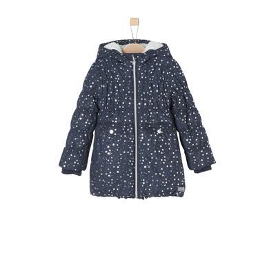 Minigirljacken - s.Oliver Girls Mantel dark blue – blau – Gr.Kindermode (2 – 6 Jahre) – Mädchen - Onlineshop Babymarkt