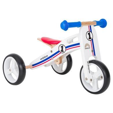 bikestar 2 in 1 Mini Kinderlaufrad 7, weiß