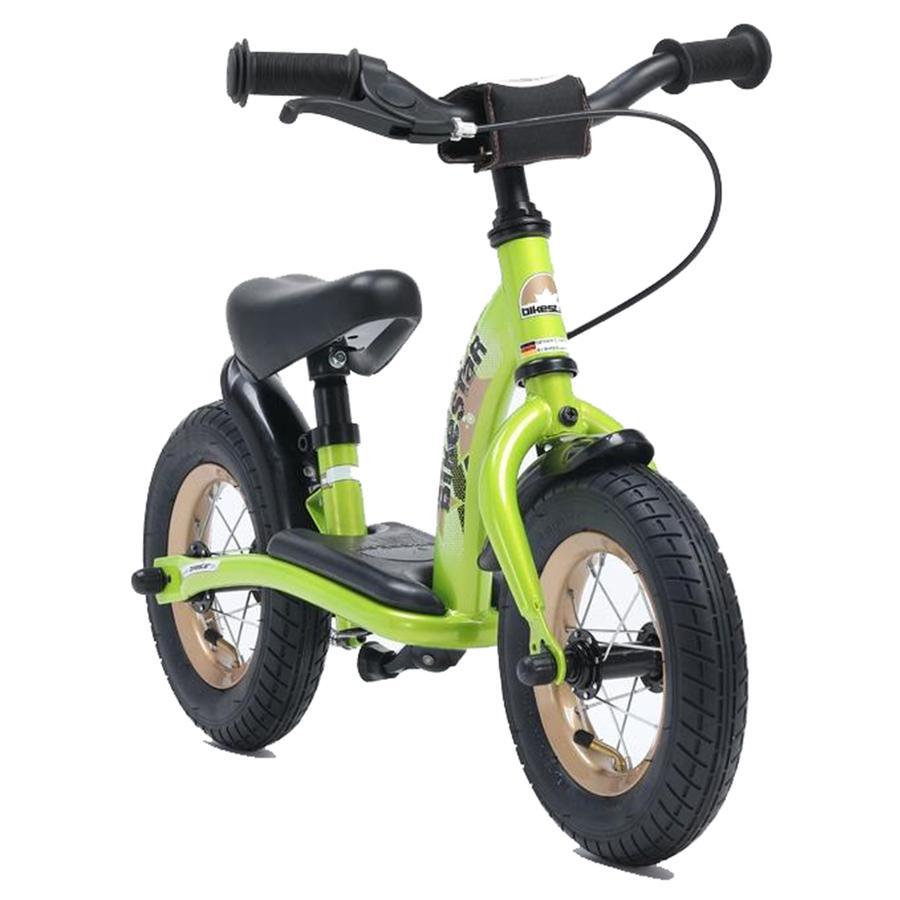 bikestar Sicherheits Kinderlaufrad 10 Brilliant Grün