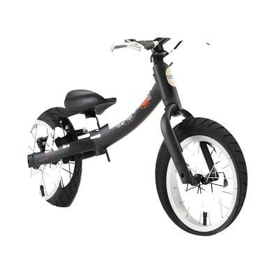 bikestar Sicherheits Kinderlaufrad 12 Matt Schwarz schwarz